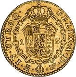 1787 Gold Spain 1 Escudo Madrid Carlos III 23851