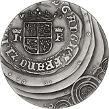 2011 Silver Medallion Royal Mint Henry VIII 20588