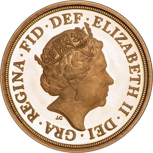 2019 Gold Proof Half Sovereign 23856