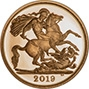 2019 Gold Proof Half Sovereign 23858