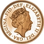 2019 5-Coin Gold Proof Sovereign Set Obverse
