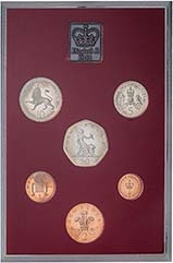 1981 Whole Coin Set UK Annual Proof - Standard 22774