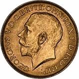 1920 Gold Sovereign George V Perth 22354