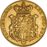1829 Gold Full Sovereign George IV London 23020