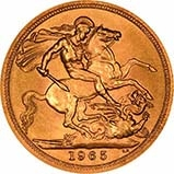 1965 Gold Full Sovereign Elizabeth II Royal Mint 24053