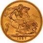 1957 Gold Full Sovereign Elizabeth II Royal Mint 24724