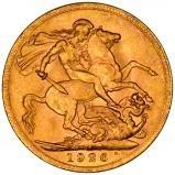 1926 Gold Sovereign George V Perth 25407