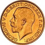 1924 Gold Sovereign George V Perth 21772