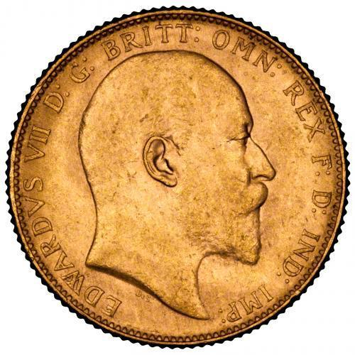 1906 Gold Sovereign Edward VII Perth 20792