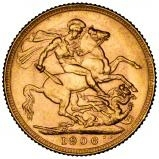 1906 Gold Sovereign Edward VII Perth 20793