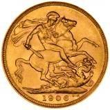 1906 Gold Sovereign Edward VII Sydney 22400