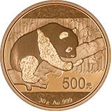 2016 30g Gold Coin Panda Bullion 21654