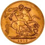 1912 Gold Sovereign George V Perth 23870