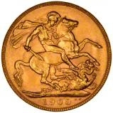 1908 Gold Sovereign Edward VII Perth 25238
