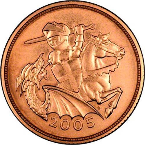elizabeth ii coin 2005