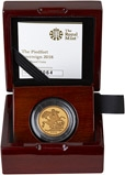 2018 Piedfort Sovereign Gold Proof  23861