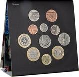 2009 United Kingdom BU Annual Coin Set 23666