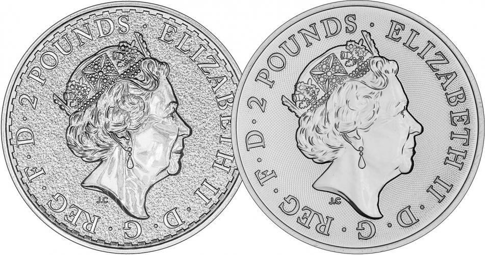 VAT Free Silver 1 oz Coin Newly Minted - Storage Only 25601
