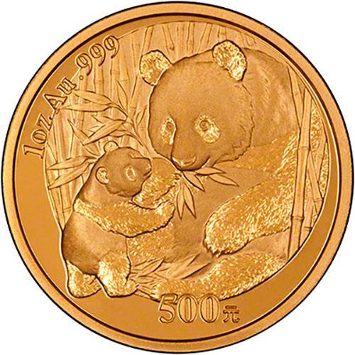 2005 1 oz Gold Coin Panda Bullion 24948