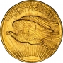 1908 $20 Double Eagle Saint Gaudens Philadelphia No Motto Gold Coin 39