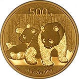 2010 1 oz Gold Coin Panda Bullion 23566