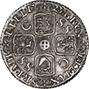 1723 George I Sixpence Die Crack gVF/aEF 21655