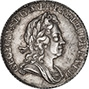 1723 George I Sixpence Die Crack gVF/aEF 21657