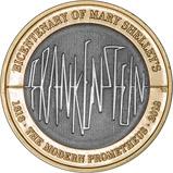 2018 £2 BU Frankenstein Coin 23830