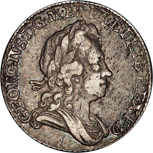 1723 George I Sixpence 25032