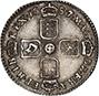 1687/6 James II Sixpence 22529