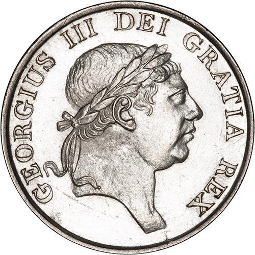 1815 George III 3 Shilling Bank Token gEF 25204