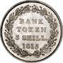 1815 George III 3 Shilling Bank Token gEF 25205