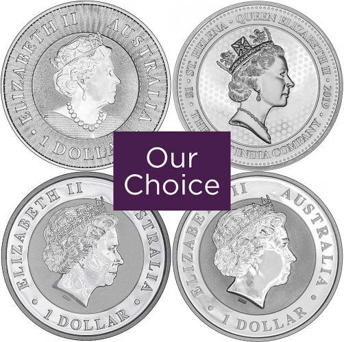 1 Ounce Silver Coins Our Choice 1 Oz Silver Coin Chards