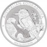 2019 1 oz Silver Coin Kookaburra Perth Mint Bullion Reverse