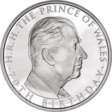 2018 Prince Charles 70th Birthday £5 Silver Proof Coin 22468