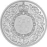 2016 UK Coin £5 / Crown Silver Proof The Queen's 90th Birthday 22586