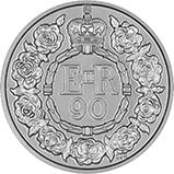 2016 UK Coin £20 BU The Queen's 90th Birthday 24951