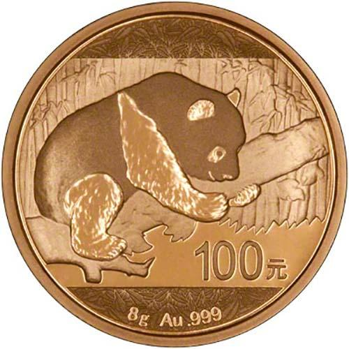 2016 8g Gold Coin Panda Bullion 24814