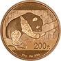 2016 15g Gold Coin Panda Bullion 25167