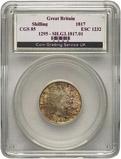 1817 Slabbed Shilling George III CGS 85 25424