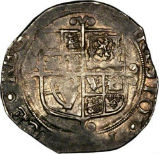 1641-1643 Charles I Silver Shilling  22050