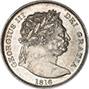 1816 Silver George III Half Crown 22187
