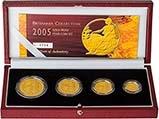 2005 Whole Coin Set Britannia - Four (4) Coins Gold Proof 24157