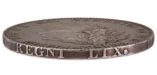 1819 George III Silver Crown 21945