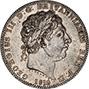 1819 George III Silver Crown 21944