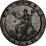 1797 George III Cartwheel Twopence 23630