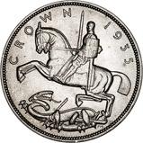 1935 George V Silver Jubilee Silver Crown 21106