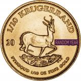 0.1 oz Gold Coin Krugerrand Bullion Best Value Secondary Market 25592