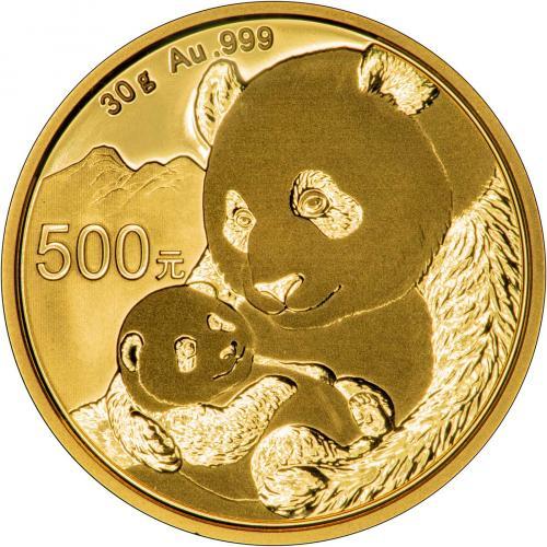 2019 30g Gold Panda Coin Bullion 25580