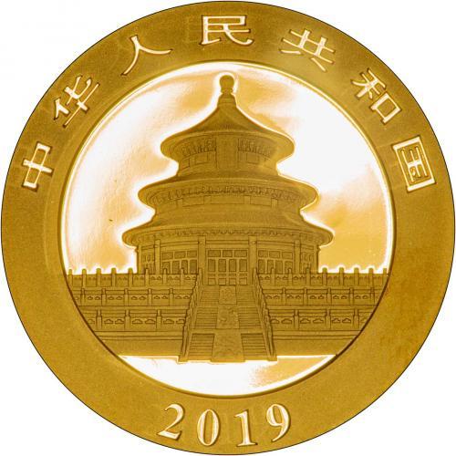 2019 30g Gold Panda Coin Bullion 25581